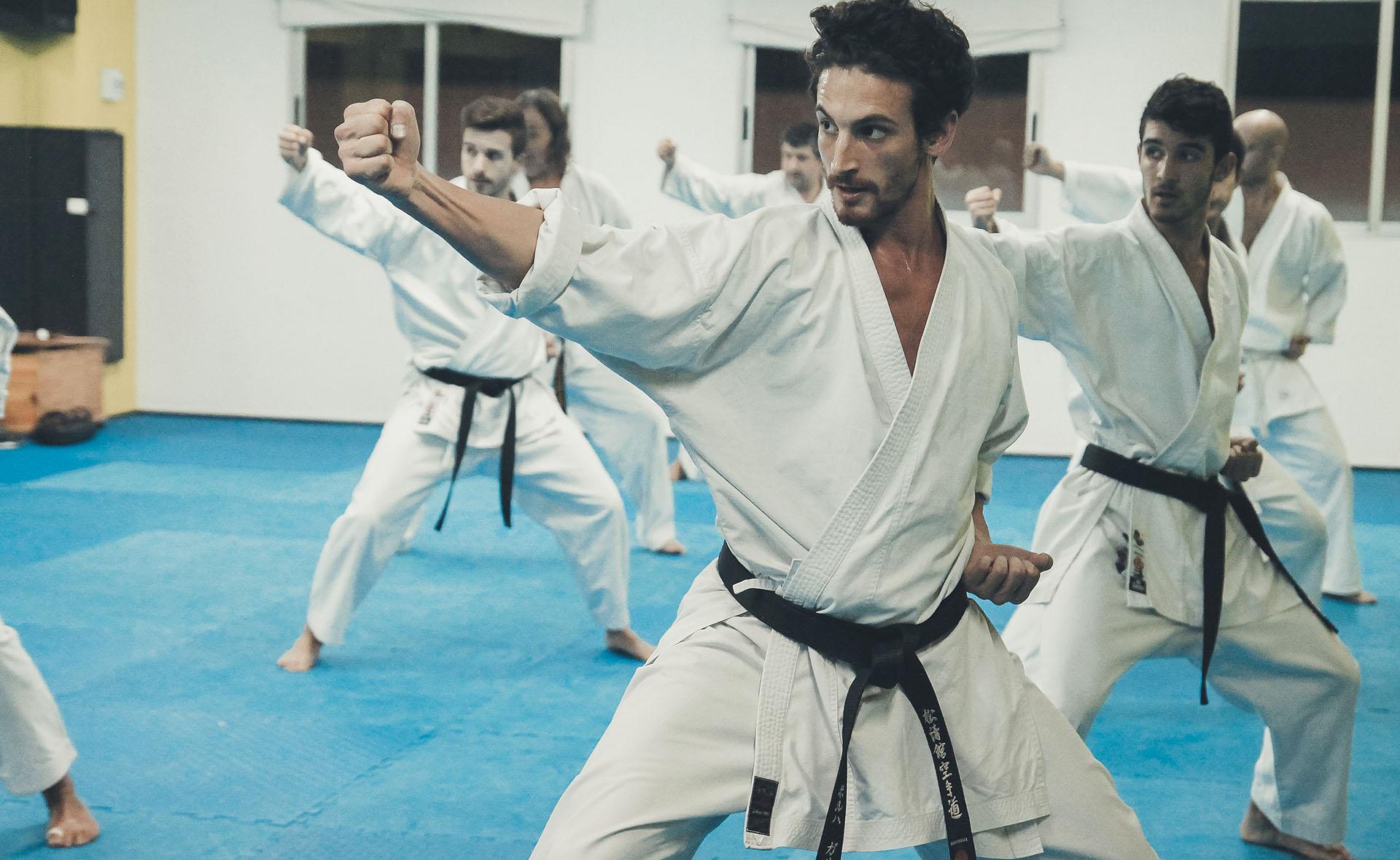 Karate Almassora y Castellón. Gimnasio Celvic